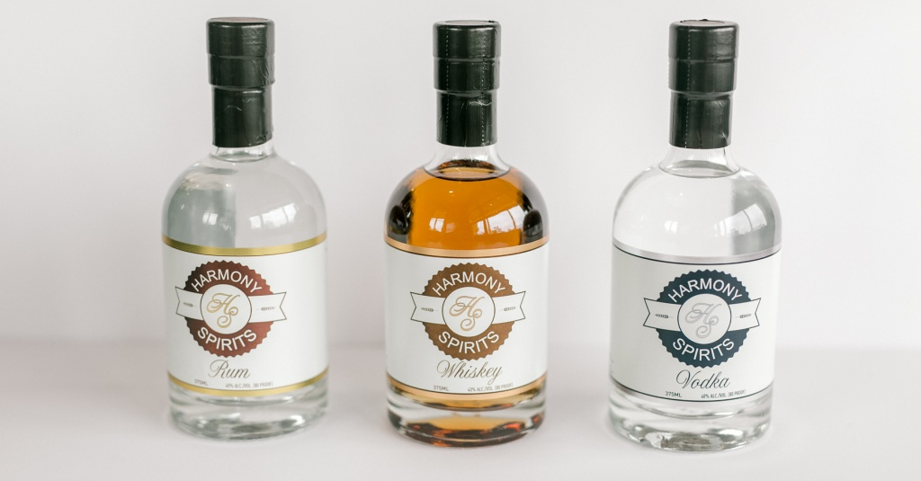 Harmony Spirits Craft Distillery Handcrafted Spirits