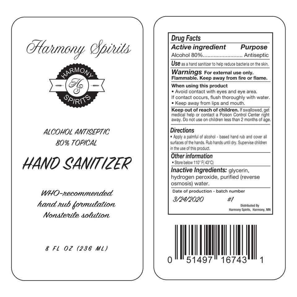 Harmony Spirits - Hand Sanitizer