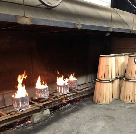 Harmony Spirits - Whiskey Barrels from The Barrel Mill in Avon, Minnesota.