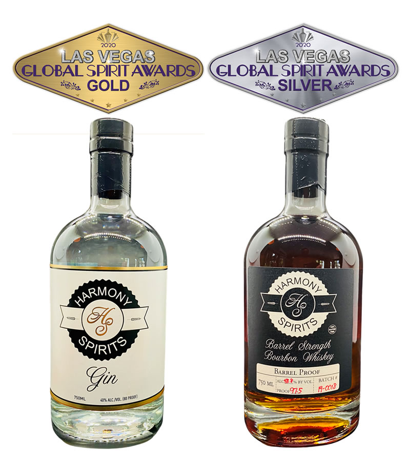 Harmony Spirits wins at the 2020 Las Vegas Global Spirit Awards